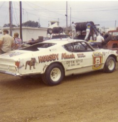 I believe this was 1972. Darrell's Ford years were starting to wind down. (Dennis Piefer photo)