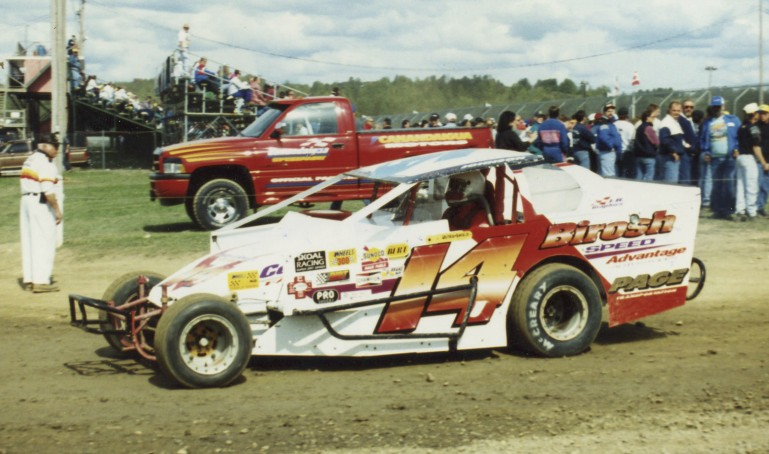 Alan (A.J. Slideways) Johnson always a top driver in the Northeast.