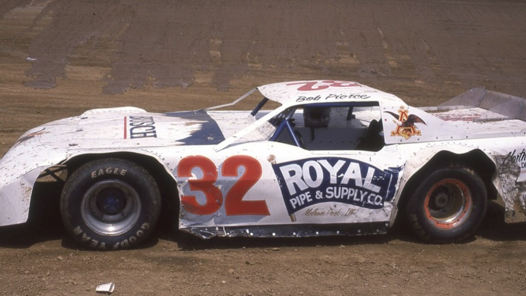 Bob Pierce, racing out of Danville, Illinois, always did well.