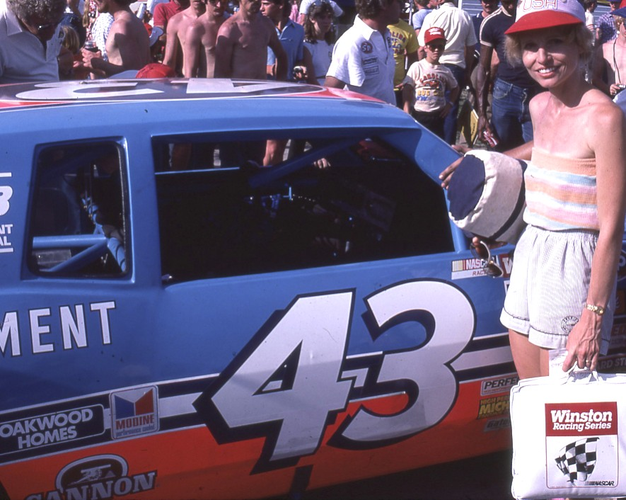 Carol and I have always been Richard Petty fans.  Some even think our youngest son, James Richard (Petty) was named after the King.