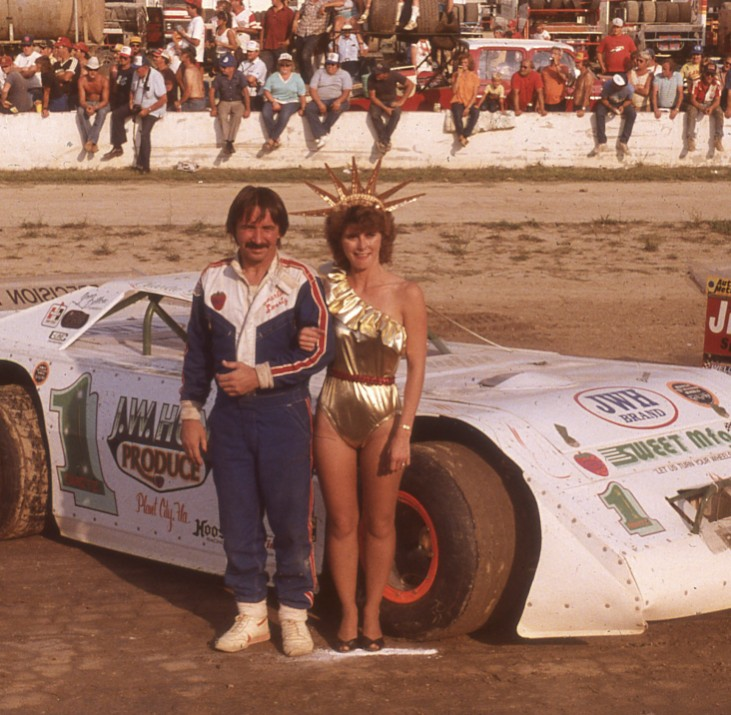 """Charlie Swartz revolutionized late model racing with the """"wedge"""" late model."""