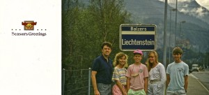 In 1990 I added just two new tracks to my list....but my family and I traveled the world.