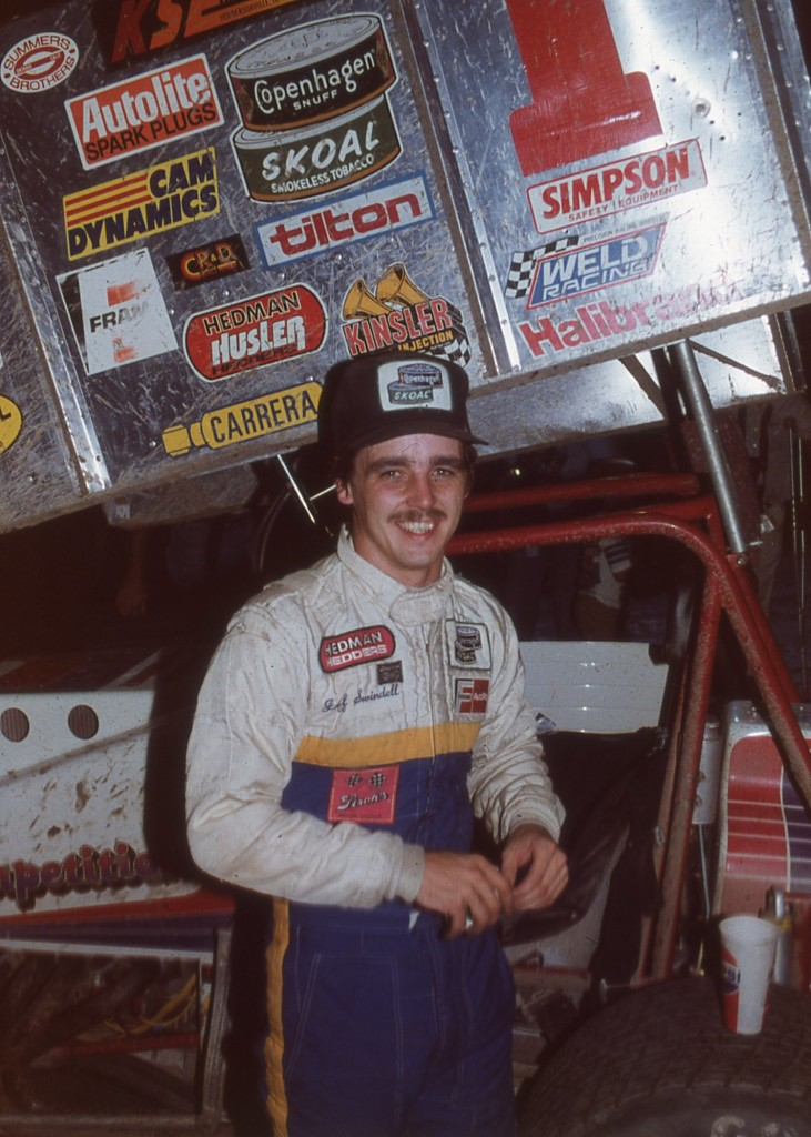 I watched Jeff Swindell race all over in the 1980s and saw him win again at the Jackson Speedway in 2013.