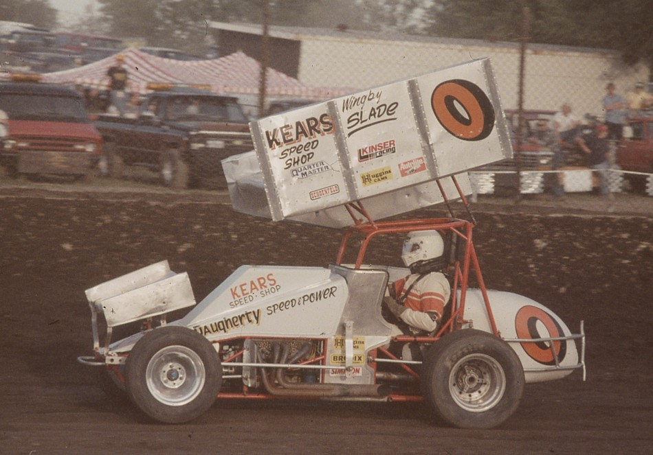 Rick Ferkel racing at Hales Corners (WI).