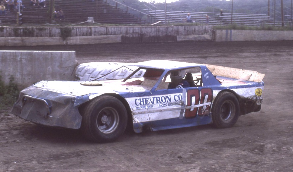 Ronnie Weedon from Pleasant Valley, Iowa.  I first saw him race at Davenport and then at Peoria many times thereafter.