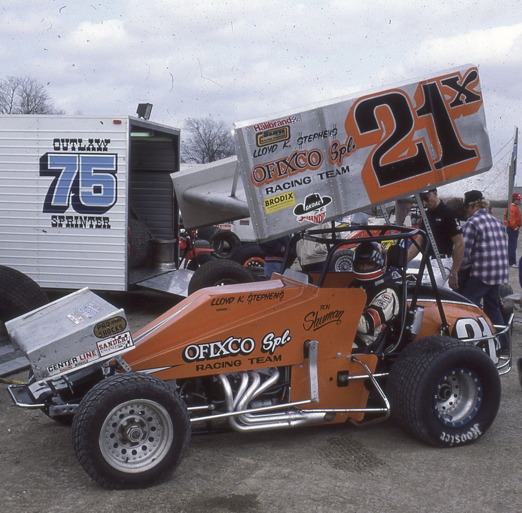Ronnie Shuman was a great open-wheel driver who raced against some tough competition.  I was there for all of his Ascot Park turkey night wins.