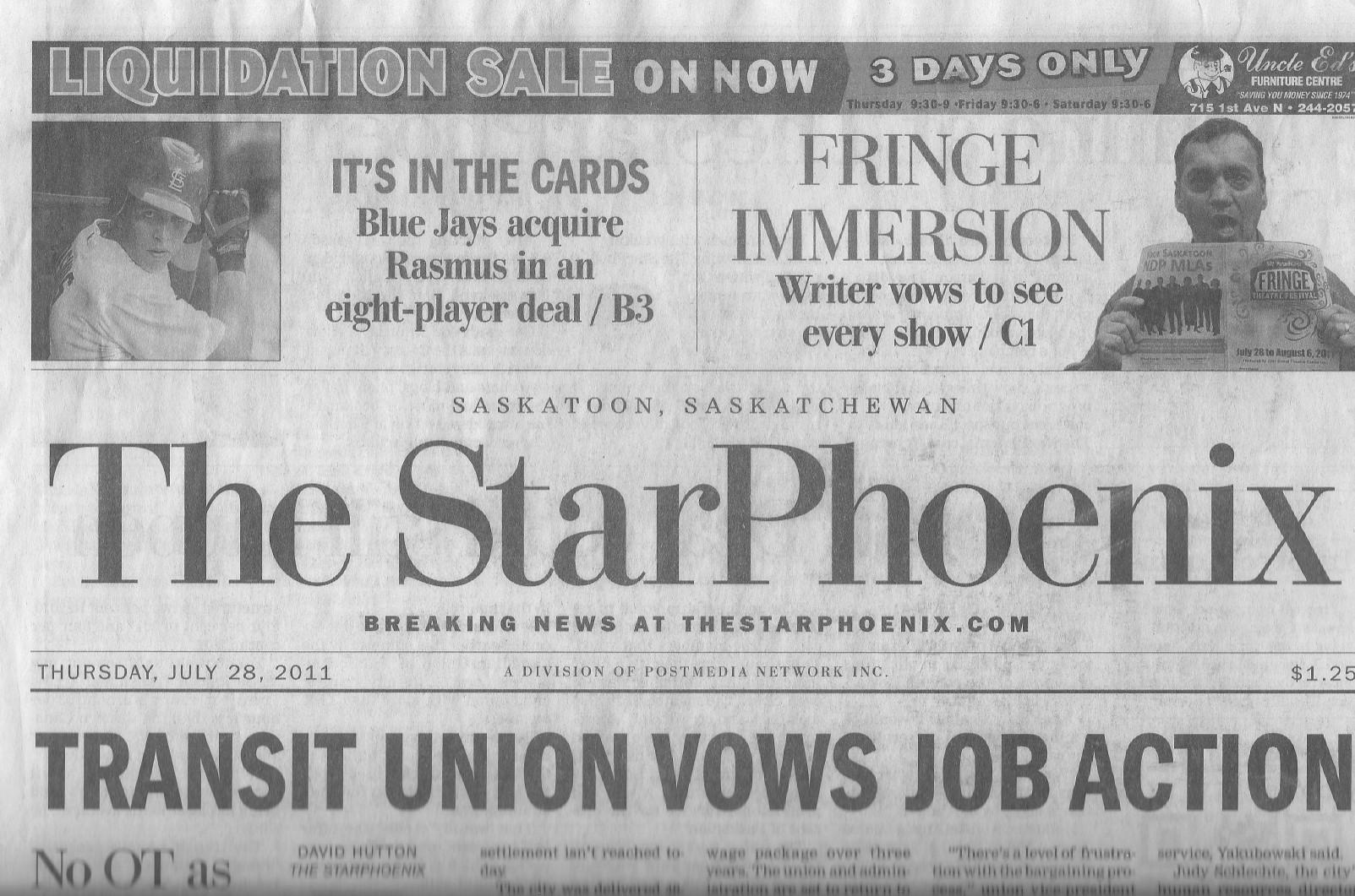 Saskatoon Star Phoenix