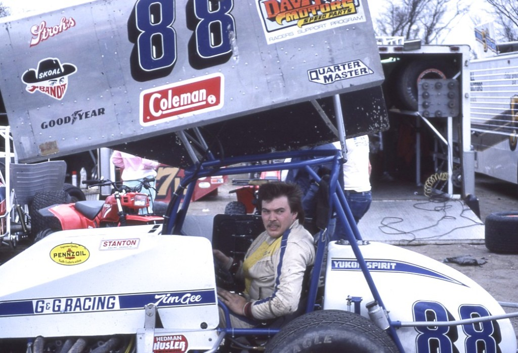 Although Canadian Tim Gee always seemed a bit underfunded I enjoyed watching him race.