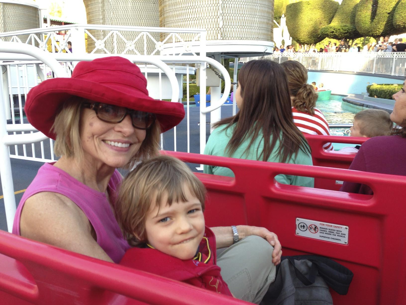 Carol and Mitch go to Disneyland!