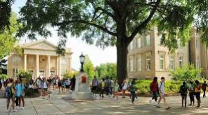 University of Mississippi campus tour