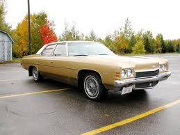 1972 Chevy Impala - The classic company car.