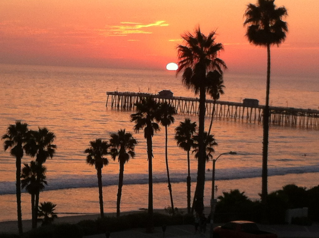 This view comes directly from our deck in San Clemente, California