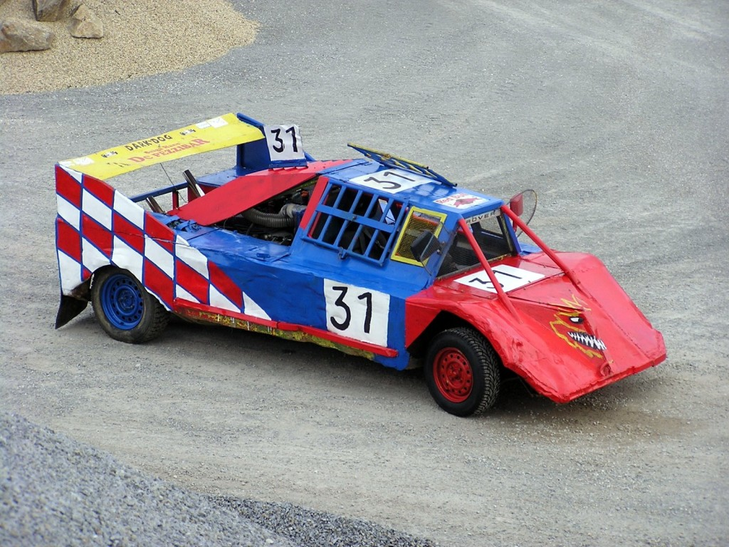 This was the first stock car I ever saw in Austria.