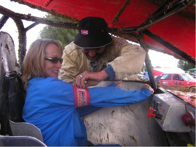 In one of the craziest things we've ever done Carol strapped into a two-seated sprint car for an ACTUAL race in New Zealand.