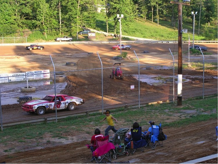 I can't say enough about the promoter at the High Banks Speedway who worked like a dog to get his figure 8 track ready to race.