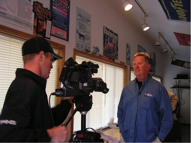 TV interview with Channel 11 in Twin Falls, Idaho.