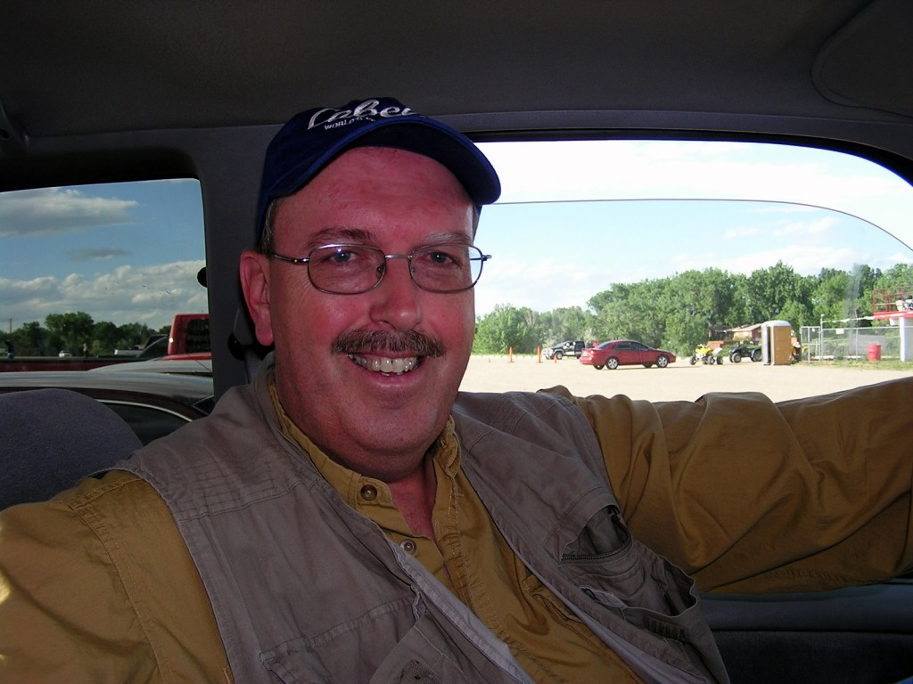 Jim Holland, sports writer for the Rapid City Journal has always been a big supporter of my trackchasing.