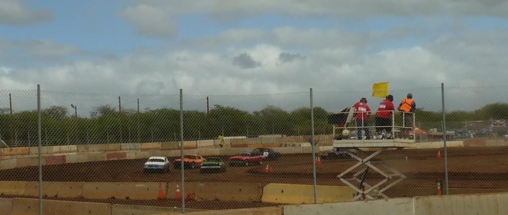 Hawaii's newest oval track - Kaleiloa Raceway Park.