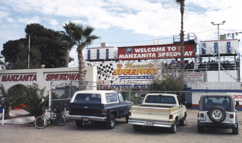 "Manzanita aka Manzy was our home track while we lived in Phoenix (1974). It's still one of my all-time favorites. I learned to eat ""cheese crisps"" there."