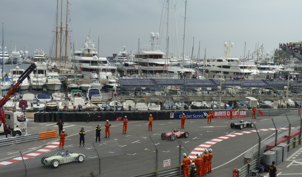Carol and I couldn't have done much better than the Monaco Vintage Grand Prix.