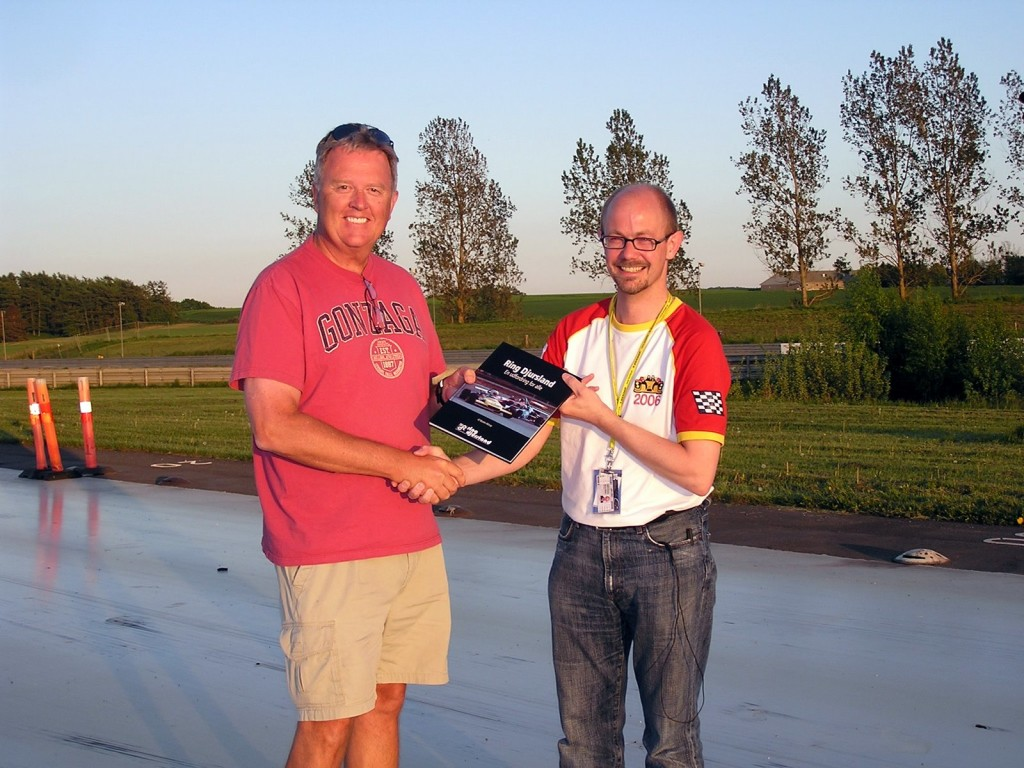 """Morten Alstrup is the author and creator of a beautiful historical racing book titled """"Ring Djursland"""".  He presented me with a complimentary copy of this beautiful work."""