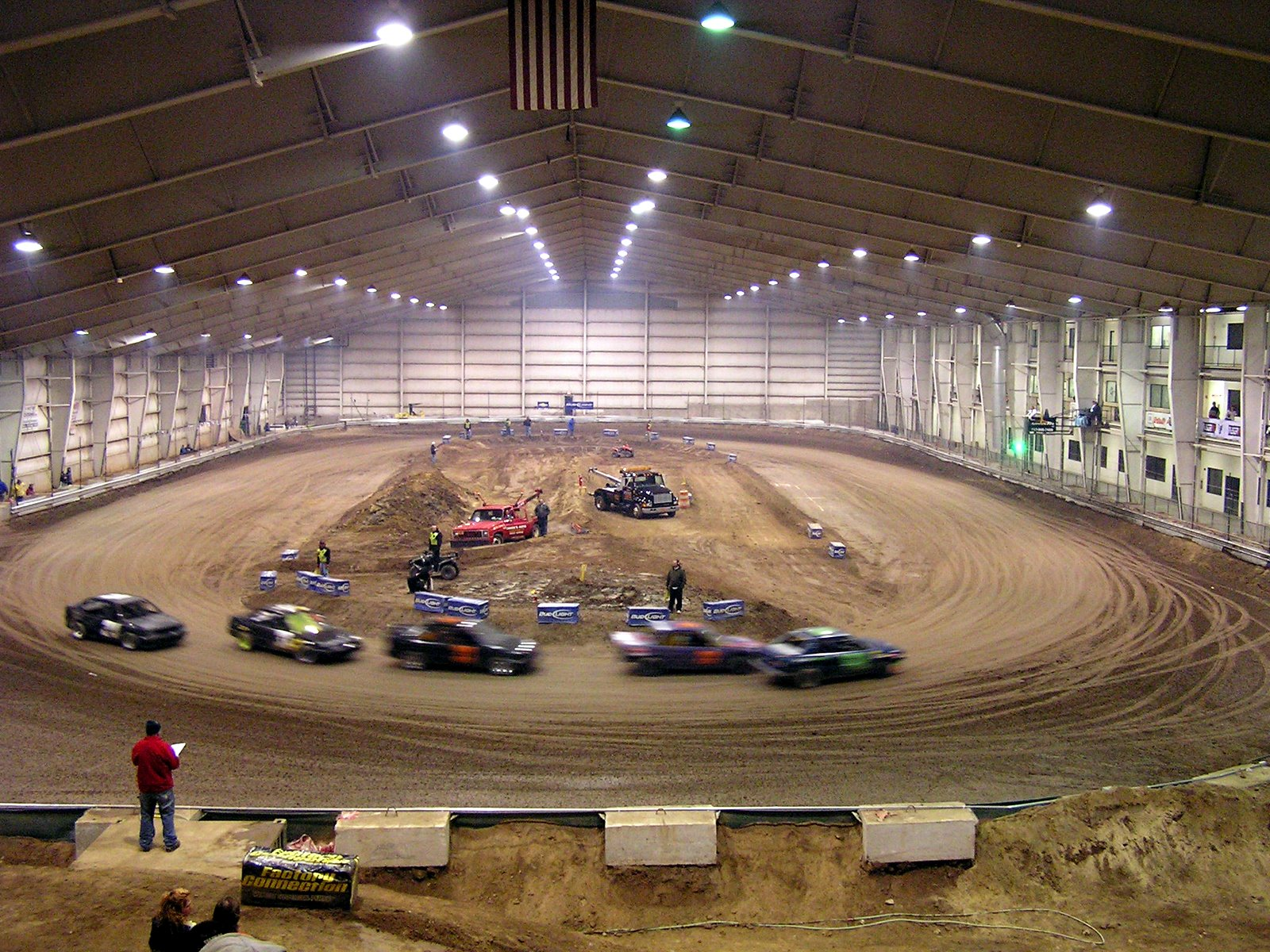 Mototown was an unusual indoor venue.  It was COLD in there.  Sadly, a fire and lack of business ended up closing the place.