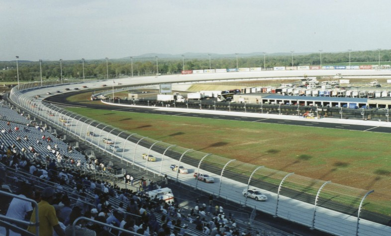 It's the ARCA race in Nashville.  Later I got drive on this track during an SCCA weekend.