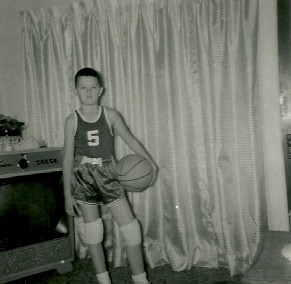As a kid I played basketball every minute of the day for years.