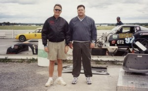My brother Mark joined me at the Shannonville Road Course.