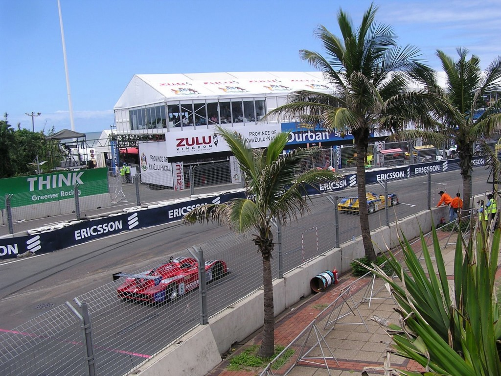 The racing in Durban, South Africa was almost an afterthought.