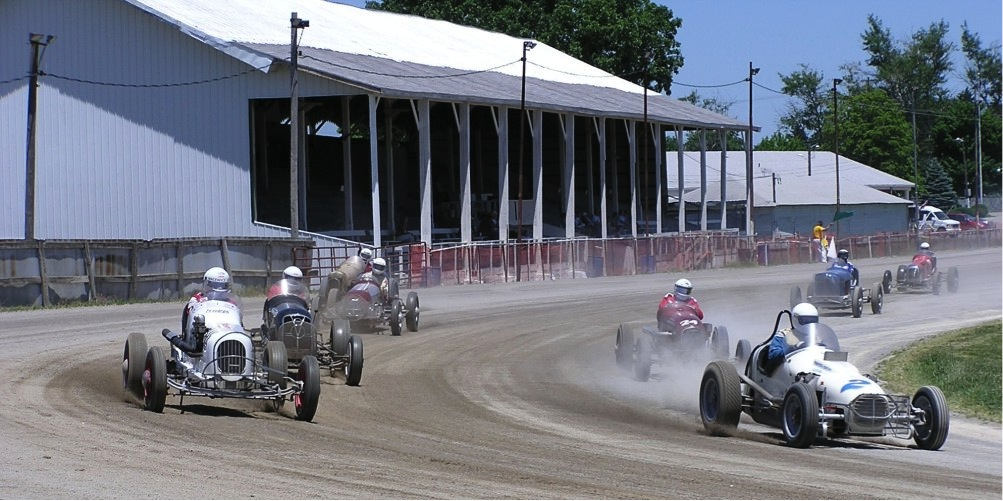 I love the Antique Auto Racing Association (AARN) racing back in Ohio.