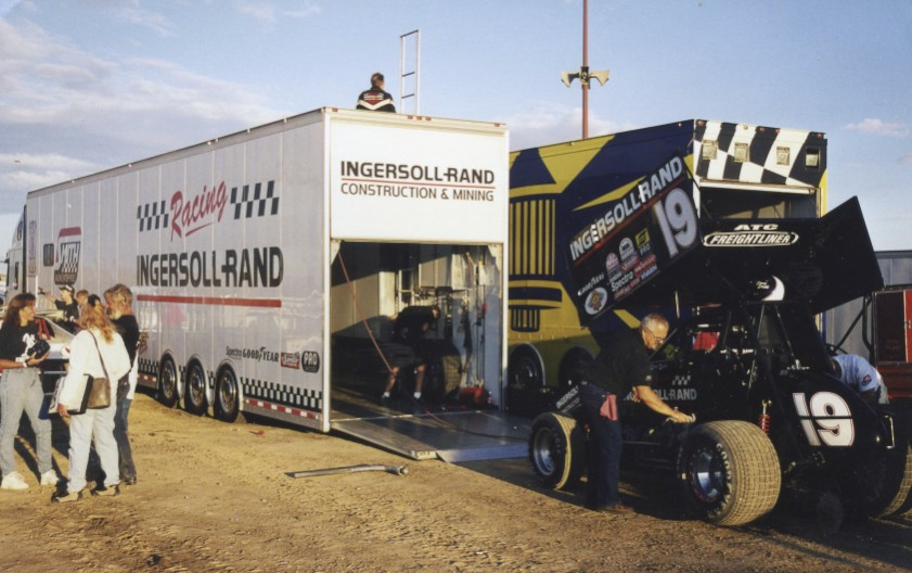 The World of Outlaws don't pull their rigs into Wyoming that often but they did on this Tuesday night in August, 1998.