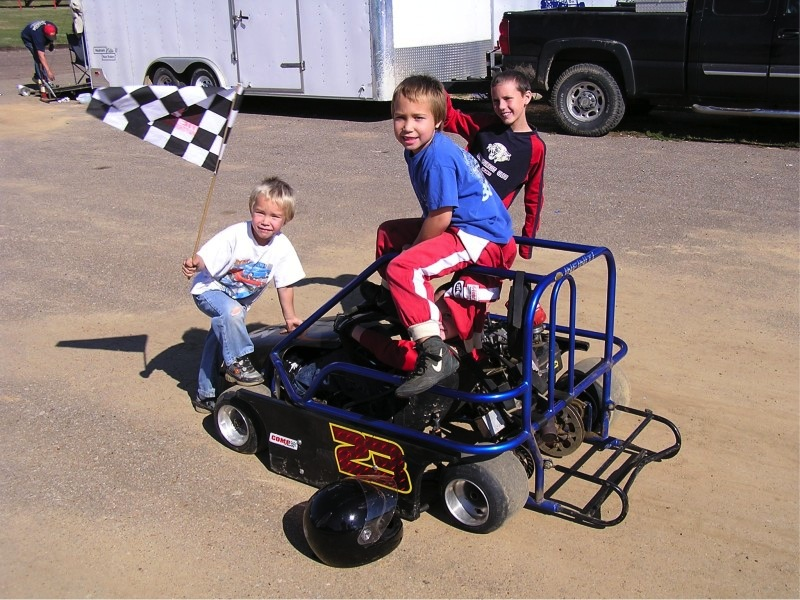 I like go-kart racing when I get a chance to see it.  Our future racers often come from this type of racing.