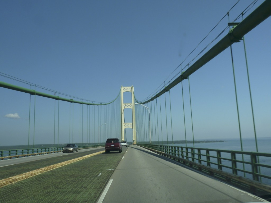 Mackinac Bridge to the U.P.