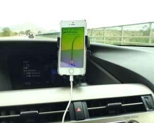 GPS w iphone