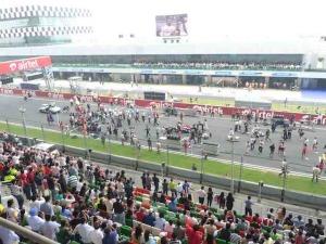 pre race activity