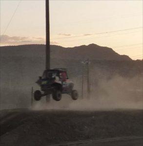sxs racing in desert