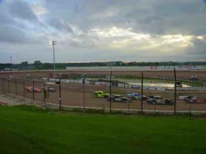 This is the wide angle view of the 141 Speedway.