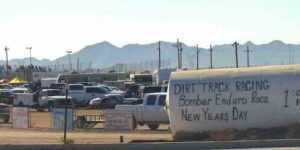 Arizona speedway sign