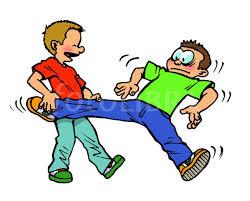 pulling leg