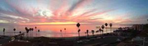 View from our home in San Clemente, California USA