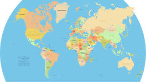 world map 490
