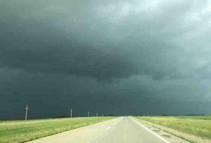 north dakota black skies