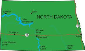 north dakota map 39