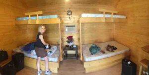 powell wyoming log cabin interior