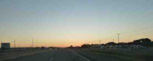 sunrise in montana