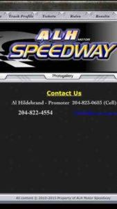 alh speedway phone screen