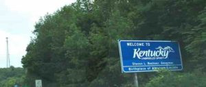 kentucky state sign
