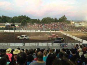 alameda county fair figure 8 racing