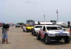 It's fun going in the pit area of both the CORR and WSORR races.